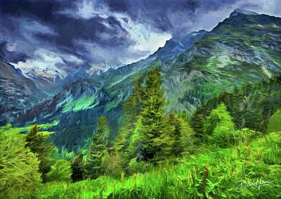 Swiss Countryside Art Print