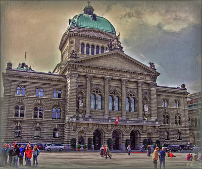 Photograph - Swiss Federal Palace by Hanny Heim