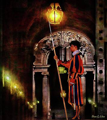 Brian Lukas Photograph - Swiss Guard by Brian Lukas