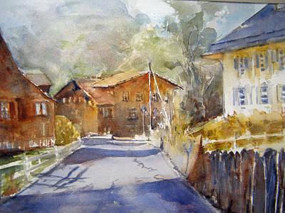 Swiss Houses Original by Rose Sinatra