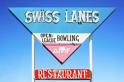 Photograph - Swiss Lanes by Todd Klassy