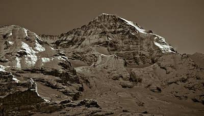 Eiger Photograph - Swiss Mountain Landscape by Frank Tschakert