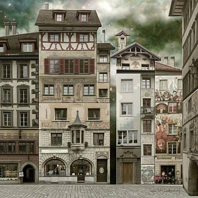 Swiss Reconstruction Art Print