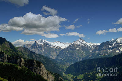 Photograph - Swiss Scenery by Michelle Meenawong