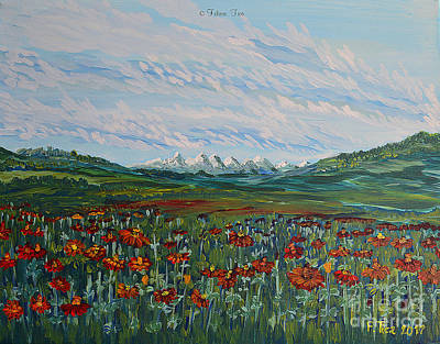 Painting - Swiss Summer Dream by Felicia Tica