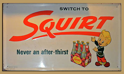 By Thomas Woolworth Photograph - Switch To Squirt by Thomas Woolworth