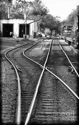 Photograph - Switch Track by Colleen Kammerer