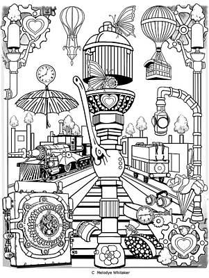 Digital Art - Switchin Gears by Melodye Whitaker