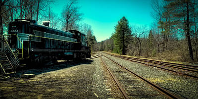 Photograph - Switching Tracks by David Patterson