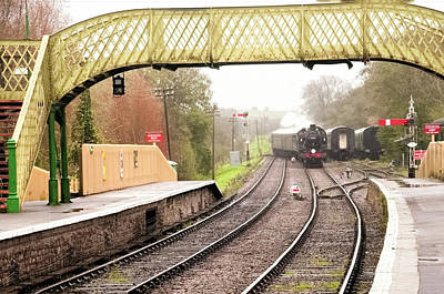 Photograph - Switching Tracks by Phyllis Taylor