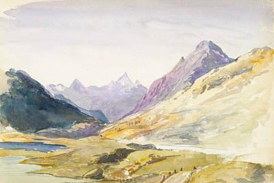 Drawing - Switzerland 1869 Sketchbook by John Singer Sargent