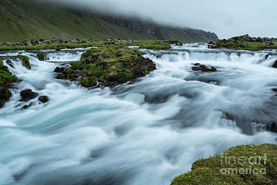Photograph - Swollen Creek by Stuart Gordon
