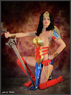 Photograph - Sword Of Justice by Jon Volden