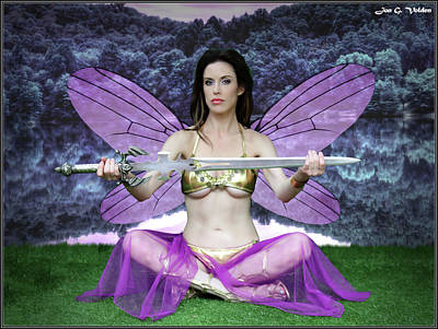 Photograph -  Sword Of The Purple Fairy by Jon Volden