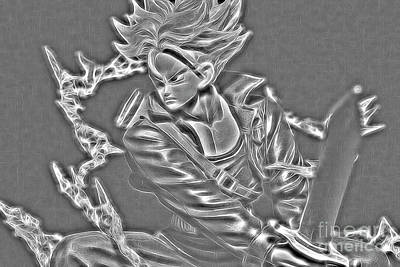 Digital Art - Sword Rush Trunks by Ray Shiu