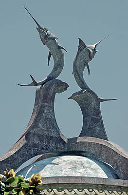 Swordfish Sculpture Art Print