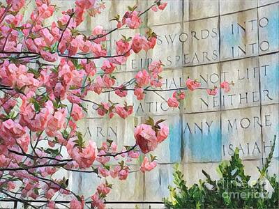 Photograph - Swords Into Plowshares - Spring Flowers by Miriam Danar