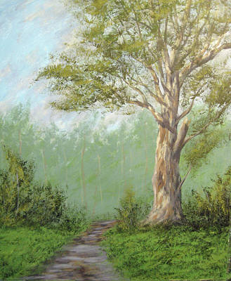 Sycamore Painting - Sycamore After The Rain by Matthew Hannum