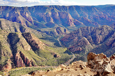 Photograph - Sycamore Canyon Rim by Debby Pueschel