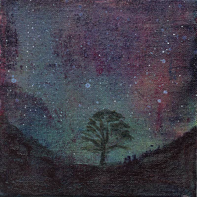 Painting - Sycamore Gap by Eleanore Ditchburn