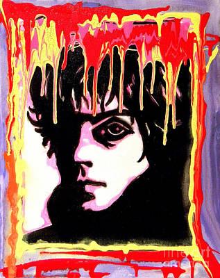Painting - Syd Barrett - Pink Floyd by Gayland Morris