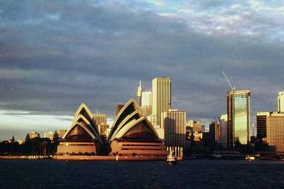 Photograph - Sydney At Sunset by Gary Wonning