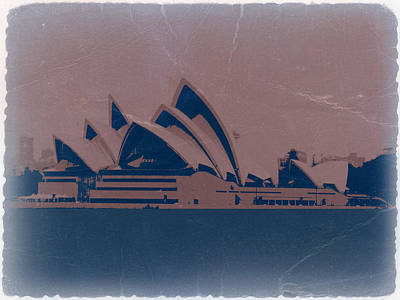 World Capitals Photograph - Sydney Australia by Naxart Studio