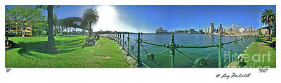 Photograph - Sydney Australia Panorama by Larry Mulvehill