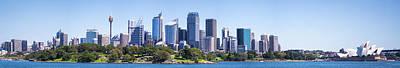 Sydney Skyline Photograph - Sydney Australia Skyline by Daniel Hagerman
