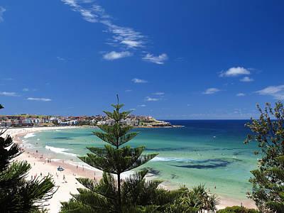 Bondi Photograph - Sydney Bondi Beach by Melanie Viola