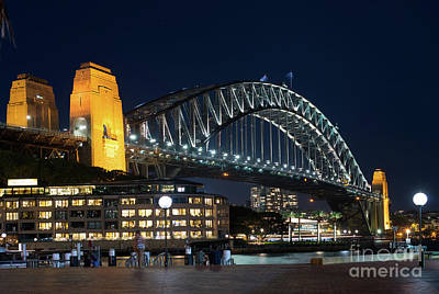 Photograph - Sydney Bridge by Andrew Michael