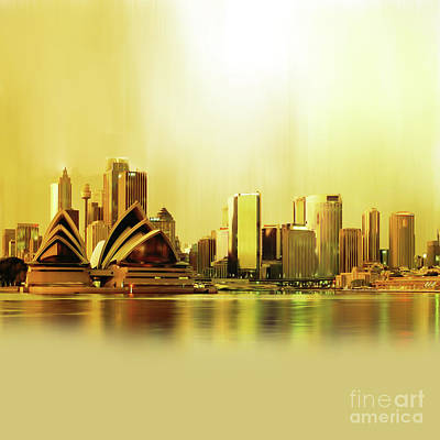 Sydney City Scape 0912 Original by Gull G