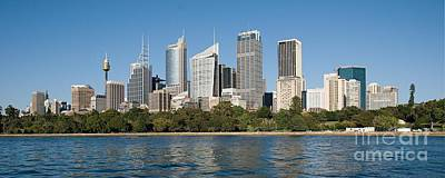 Sydney Skyline Photograph - Sydney Commercial Skyline3. by Geoff Childs