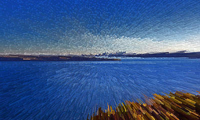 Sydney From North Head Art Print