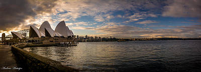 Art Print featuring the photograph Sydney Harbor by Andrew Matwijec