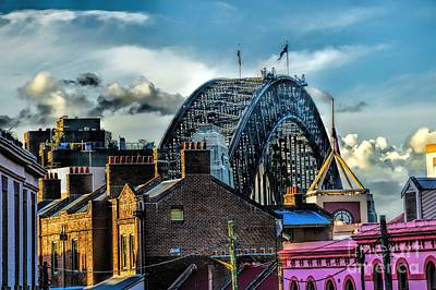 Photograph - Sydney Harbor Bridge by Diana Mary Sharpton