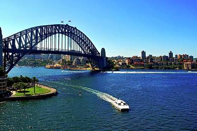 Photograph - Sydney Harbor Bridge I by Kirsten Giving