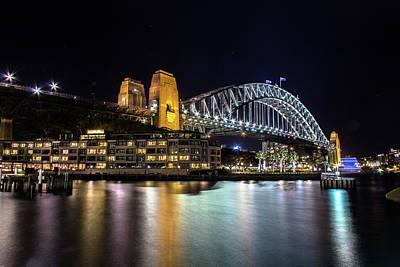 Photograph - Sydney Harbor Bridge by Kenny Thomas