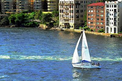 Photograph - Sydney Harbor Dwellings by Kirsten Giving