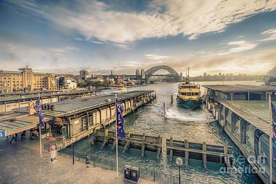 Photograph - Sydney Harbor I by Ray Warren