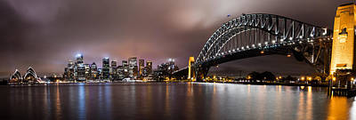 Sydney Skyline Photograph - Sydney Harbor by Steven Hirsch