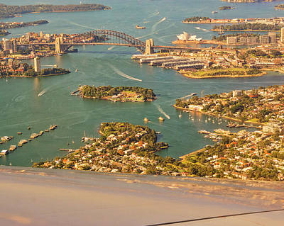 Photograph - Sydney Harbor by Steven Ralser