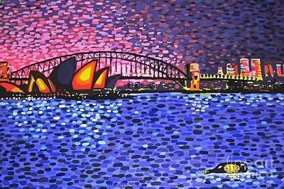 Sydney Harbour Art Print by Alan Hogan