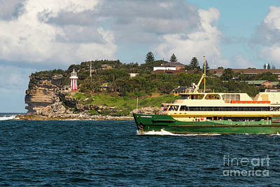 Photograph - Sydney Harbour by Andrew Michael