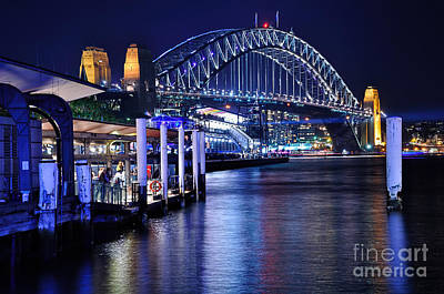 Photograph - Sydney Harbour Blue By Kaye Menner by Kaye Menner