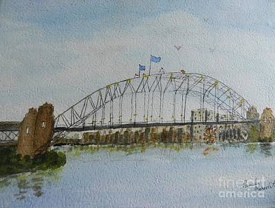 Painting - Sydney Harbour Bridge 1 by Pamela Meredith