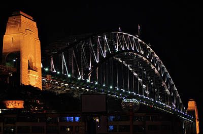 Photograph - Sydney Harbour Bridge Australia by Cheryl Hall
