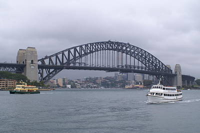 Realism Photograph - Sydney Harbour Bridge by Brian Leverton