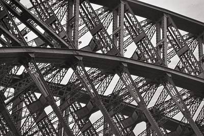 Photograph - Sydney Harbour Bridge Detail No. 17-2 by Sandy Taylor