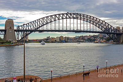 Photograph - Sydney Harbour Bridge by Elaine Teague
